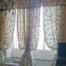 Tende da Interno - Tenda in seta fiorata